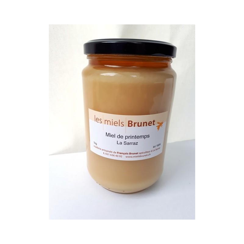 miel de printemps brunet