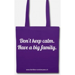 Totebag Don't keep calm