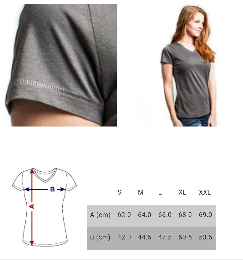 taille du t-shirt